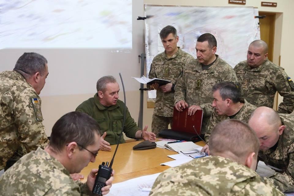 Украјинска војска одржала војне вежбе на обалама Азовског мора