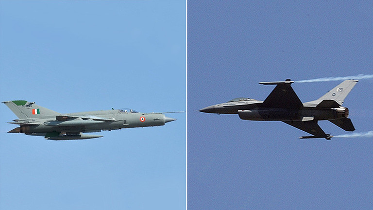 РТ: Индија потврдила да је МиГ-21 оборио пакистански Ф-16