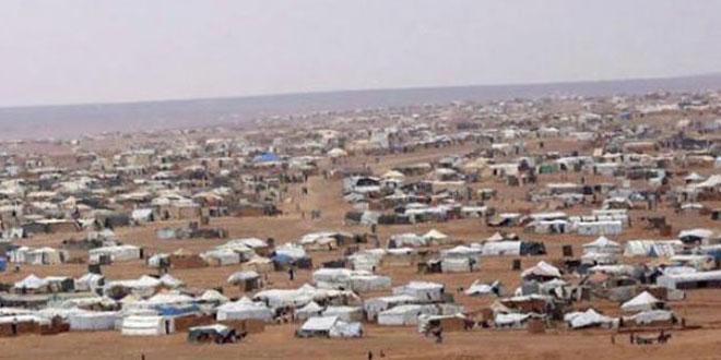 """САД не дозвољавају избеглицама да изађу из сиријског избегличког кампа """"Рукбан"""""""