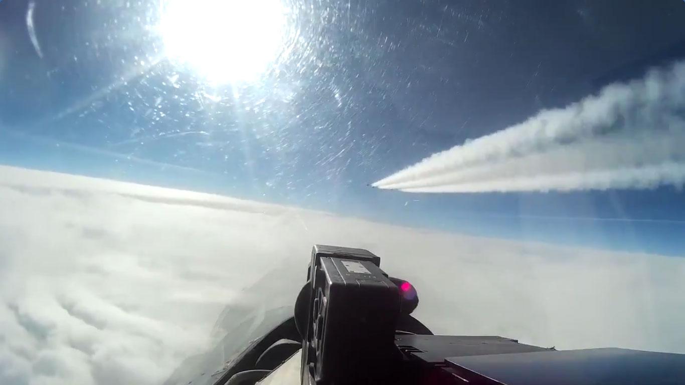 Пресретање америчког шпијунског авиона изнад Балтичког мора
