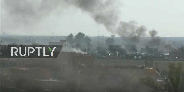 Десетине мртвих цивила у нападу коалиције САД на сиријско село
