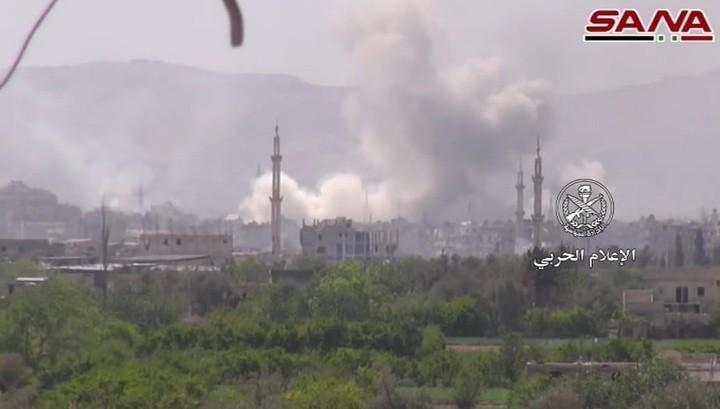 Терористи у Сирији напасли цивиле отровним гасом