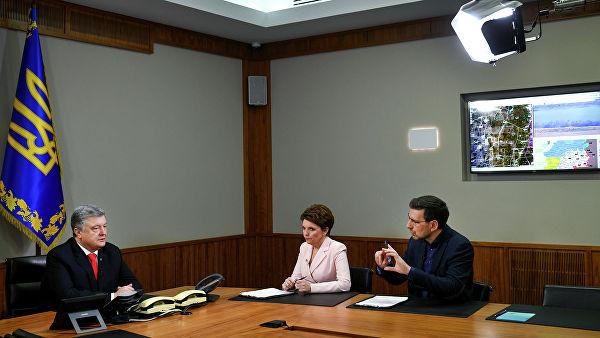 """Порошенко показао просторију у којој се """"решавала судбина"""" Европе и Украјине"""