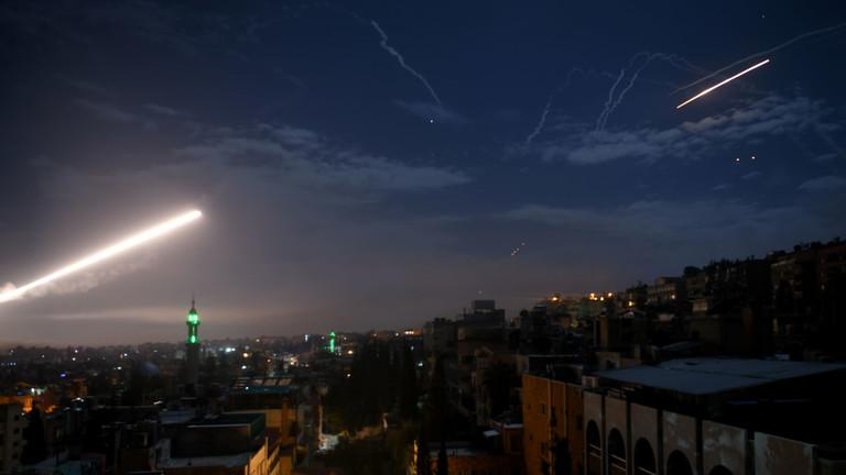 РТ: Израел напао Сирију - већина ракета пресретнуто