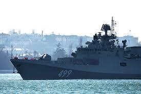 Два ракетна брода појачала групу бродова Црноморске флоте у Црном мору