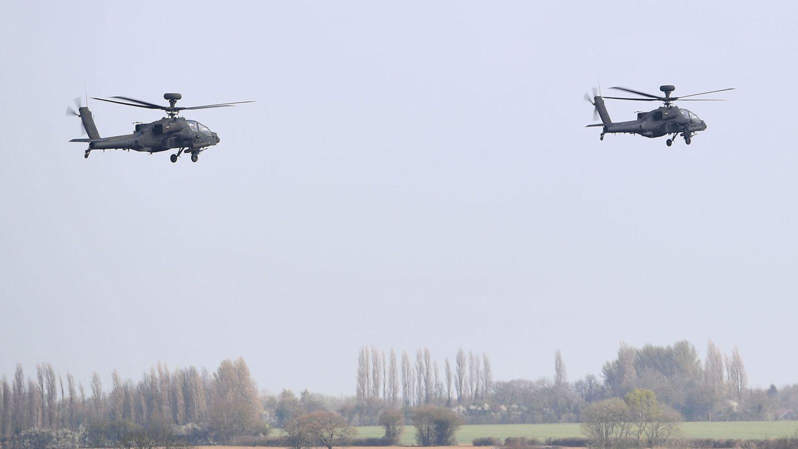"""Лондон послао у Естонију пет хеликоптера ради спречавања потенцијалне агресије Кремља"""""""