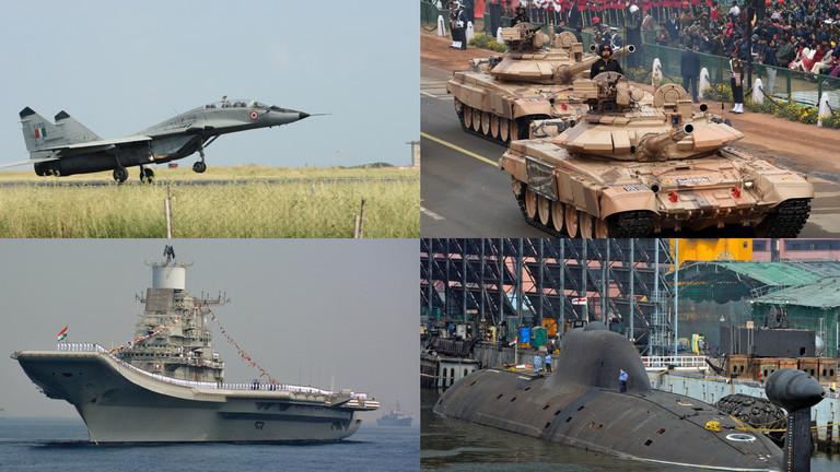 РТ: Индија поседује огроман арсенал руског оружја и настоји да га прошири