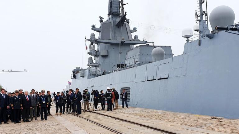 RT: Ruski i indijski ratni brodovi se pridružuju proslavi 70. godišnjice kineske mornarice