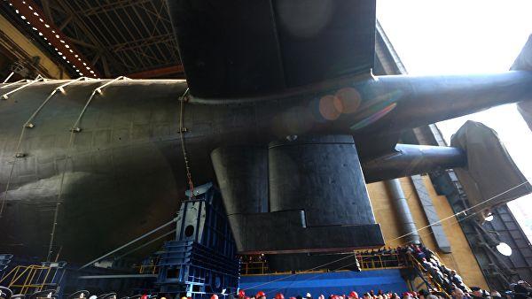 """Поренута прва нуклеарна подморница-носач за систем """"Посејдон"""""""
