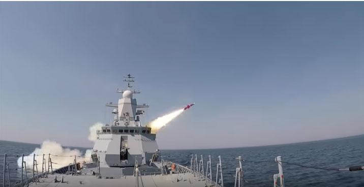 """Дејство противбродске ракете """"Уран"""""""