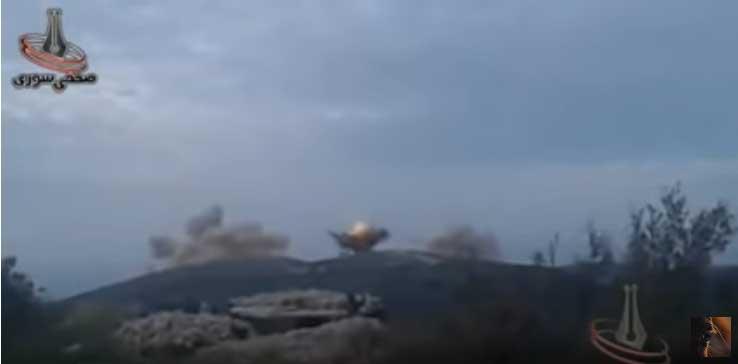 Сиријск војска извршила ракетни напад на позиције милитаната у Латакији