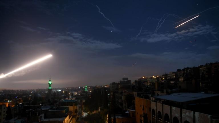 РТ: Сиријска ПВО пресрела израелске пројектиле