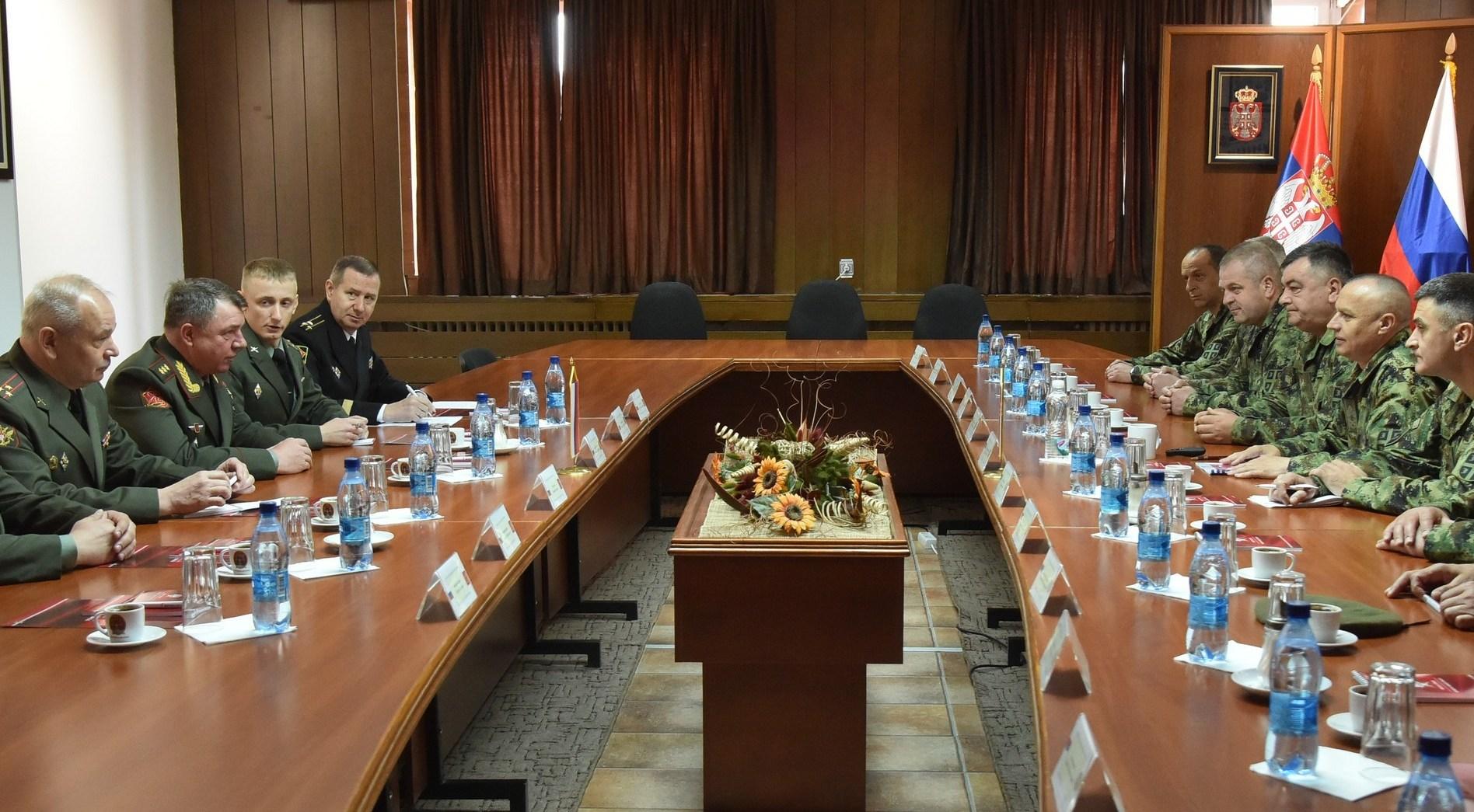 Генерал Журављов се састао са генералом Симовићем