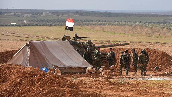 Сиријска војска ненела огромне губитке терористима