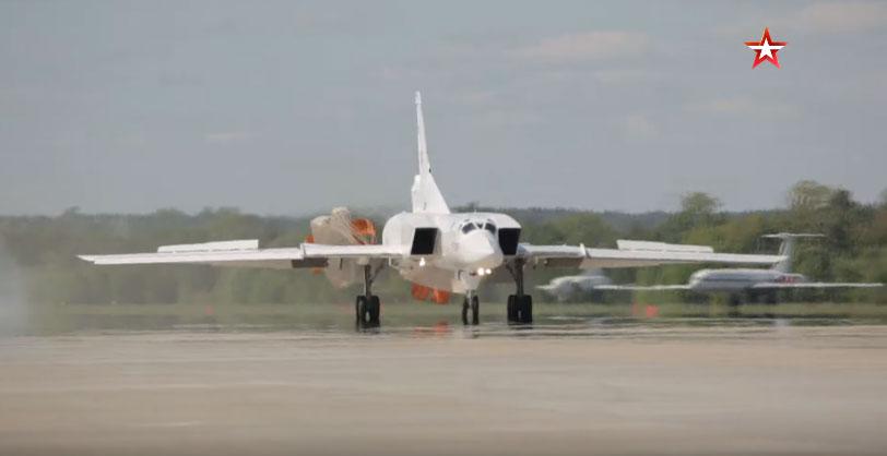 Тестирање модернизованог стратешког бомбардера Ту-22М3М