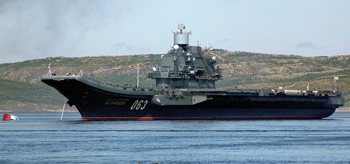 Rusija razvija nosač aviona na nuklearni pogon
