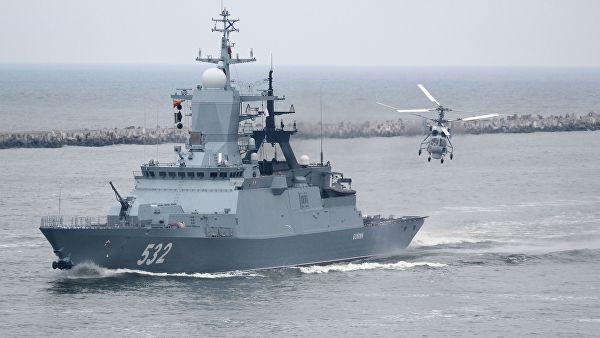 Балтичка флота надгледа НАТО вежбу у Балтичком мору