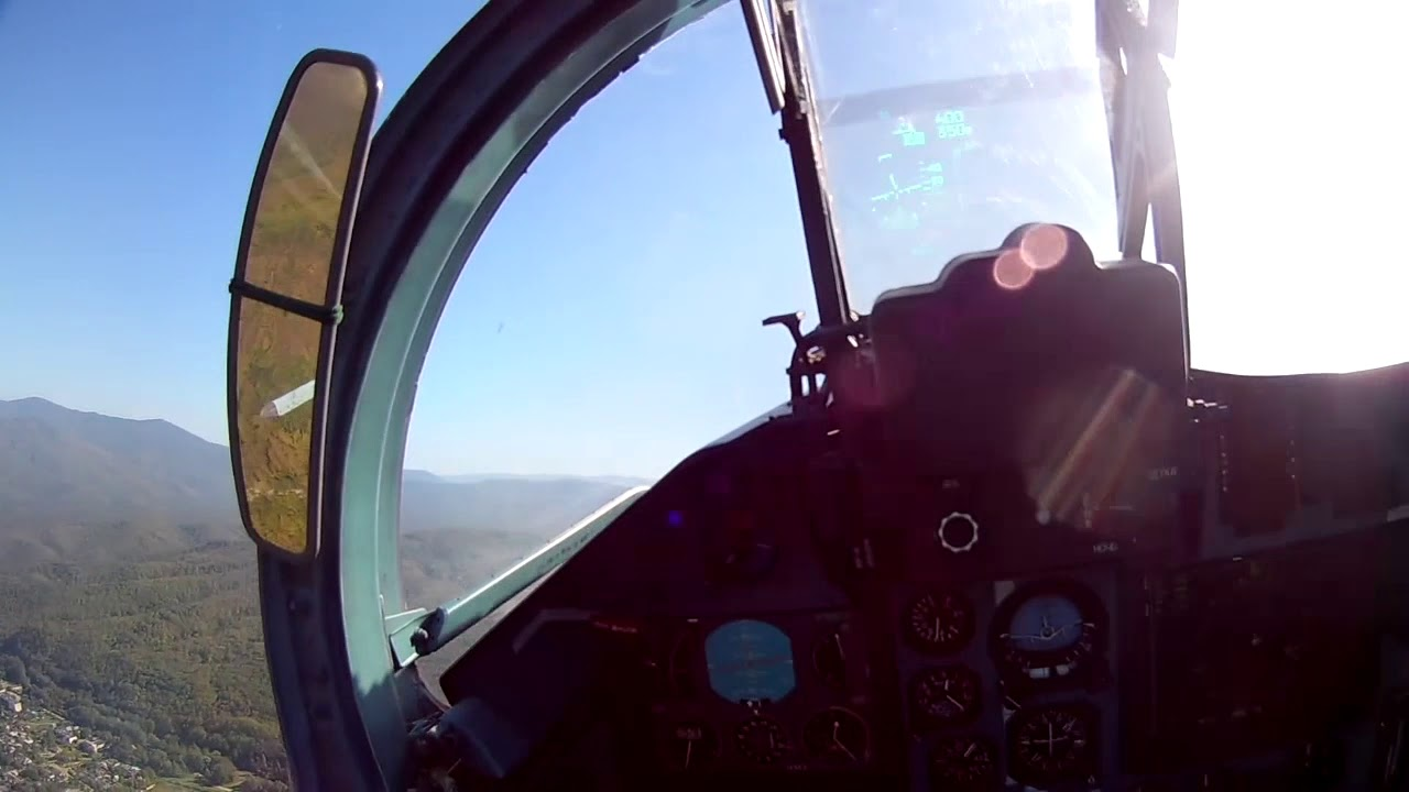 Вежба елемената летења авиона Су-27 и Су-30М2
