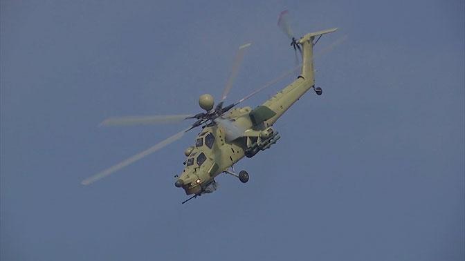 Нова акробатска фигура: Хеликоптер Ми-28 се окреће око своје осе при бризни од 90 km/h