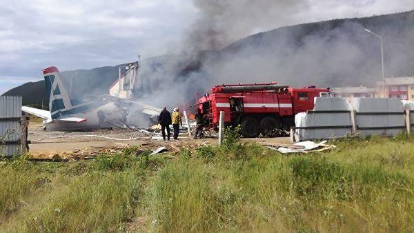 Несрећа у Русији: Пилот и техничар погинули, путници спасени