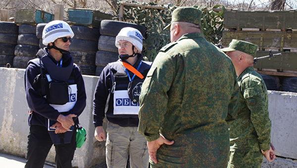 Оборен дрон ОЕБС-а у Донбасу