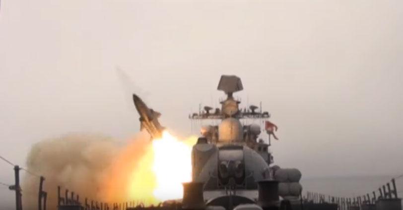"""Бродови Пацифичке флоте тестирали крстарећу ракету """"Москит"""""""