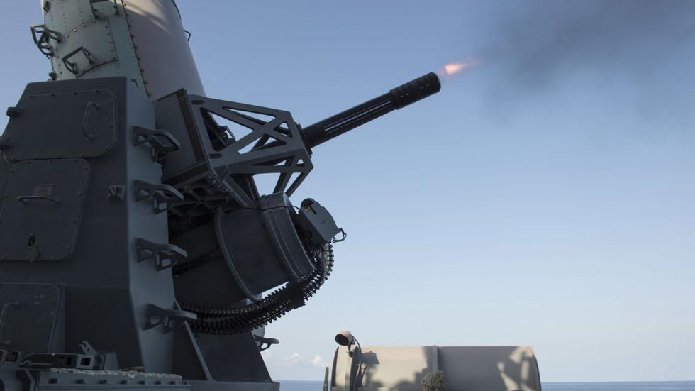 РТ: Америчка морнарица оборила ирански дрон у - Трамп