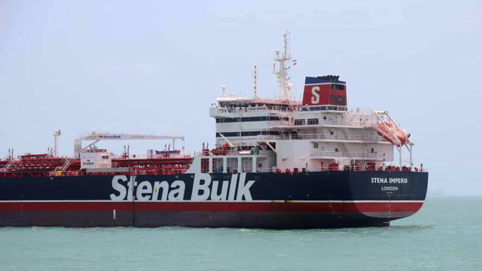 РТ: Иран објавио снимак заплене бротанског брода