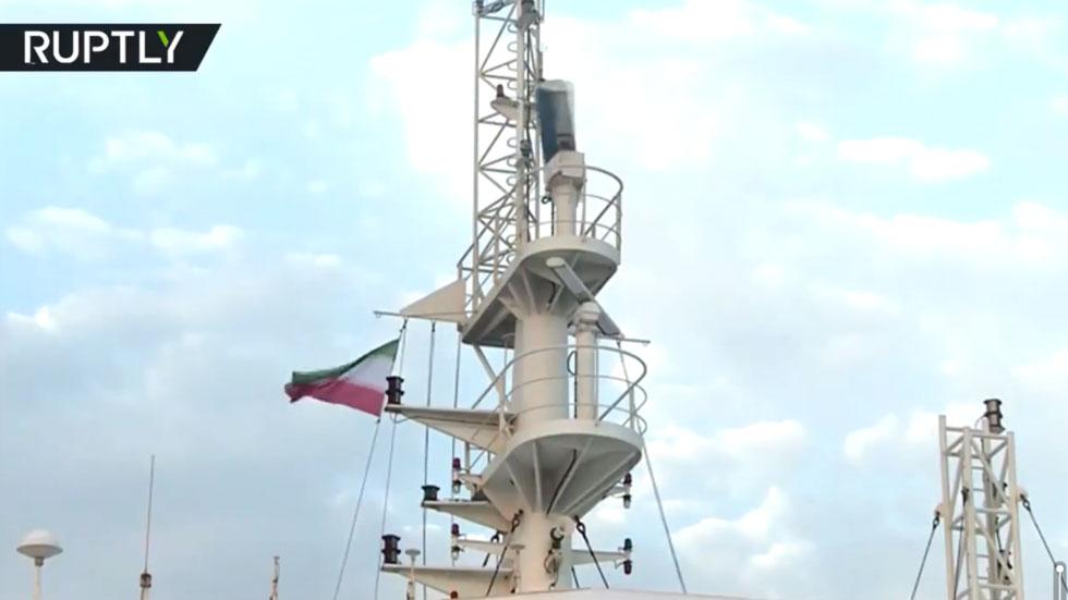 РТ: Иранска телевизија објавила снимак са државном заставом на заплењеном британском броду