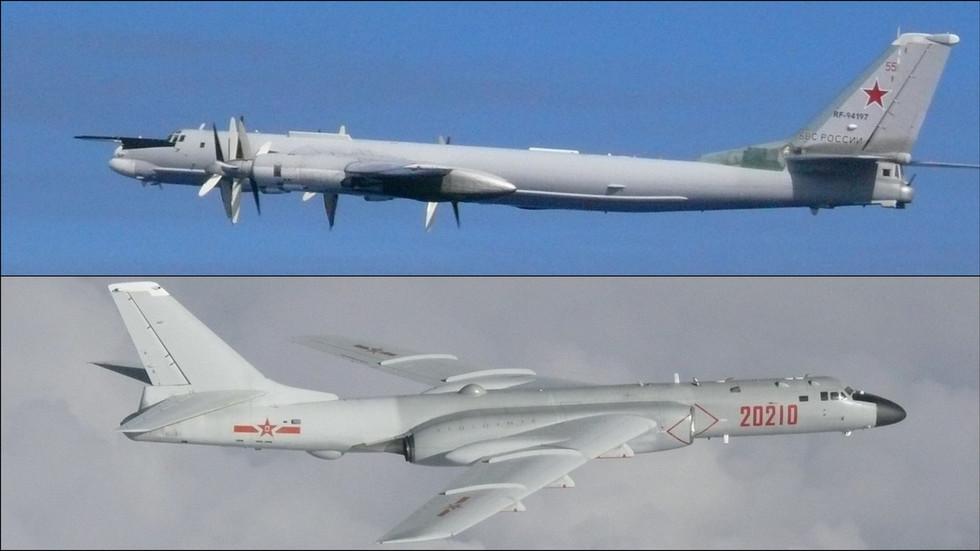 РТ: Руско-кинеска бомбардерска патрола се сусрела са јапанским и корејским ловцима, али се мисија наставља