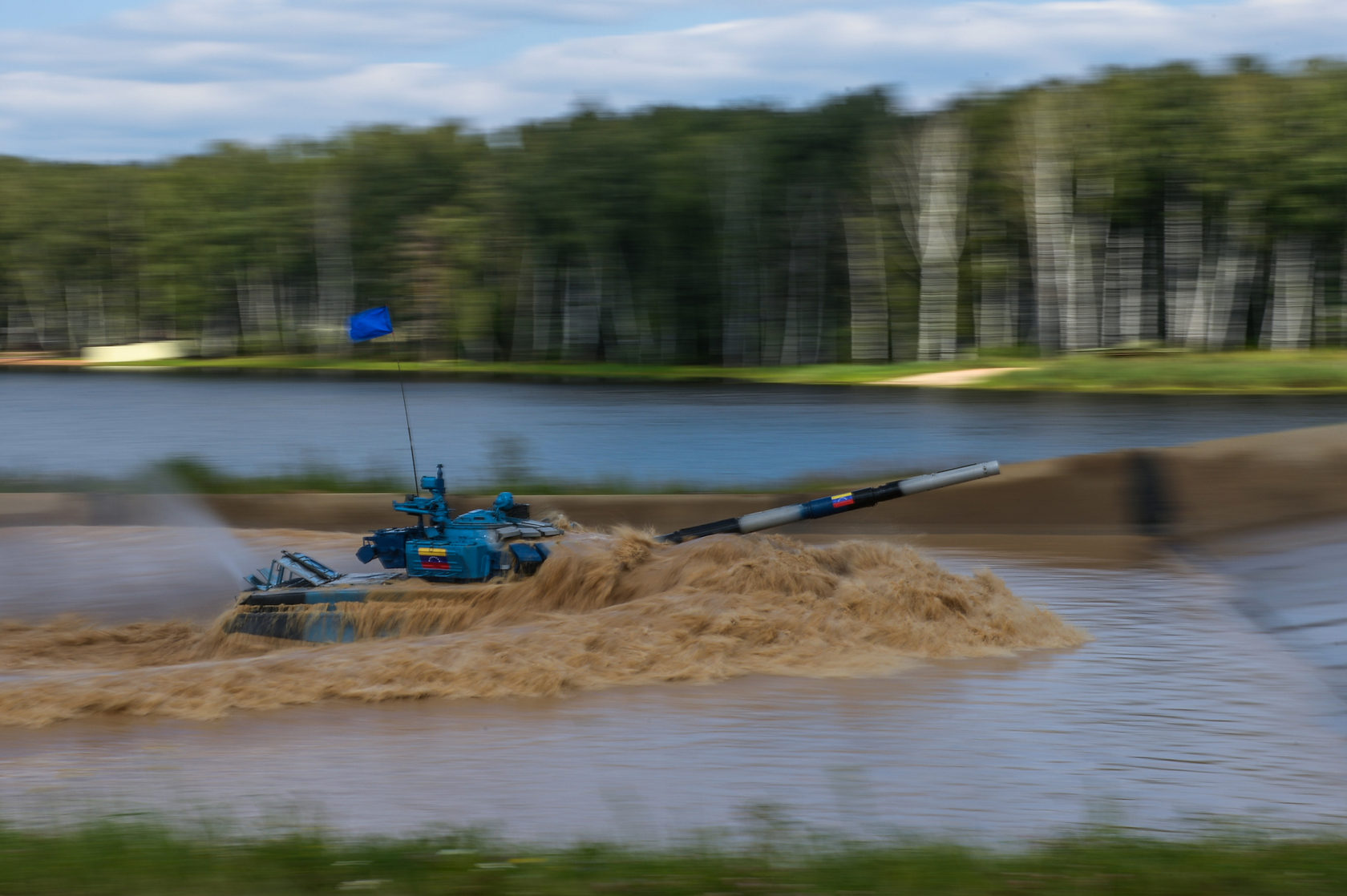 Међународне војне игре у Русији: Тенковски биатлон - уживо