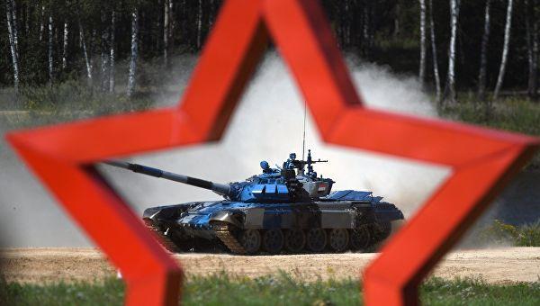 Међународне војне игре у Русији - тенковски биатлон
