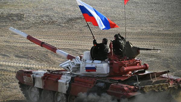 Руски тим поставио рекорд на тенковском биатлону