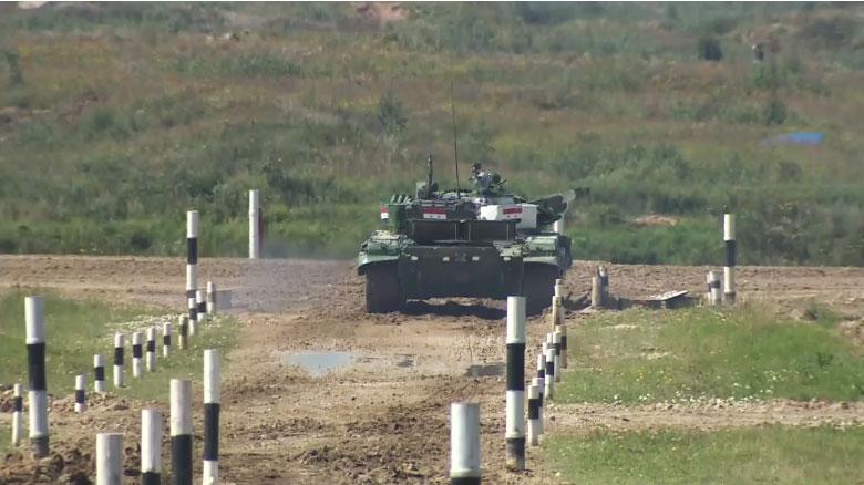Тенковски биатлон - посаде Казахстана, Венецуеле, Сирије и Монголије