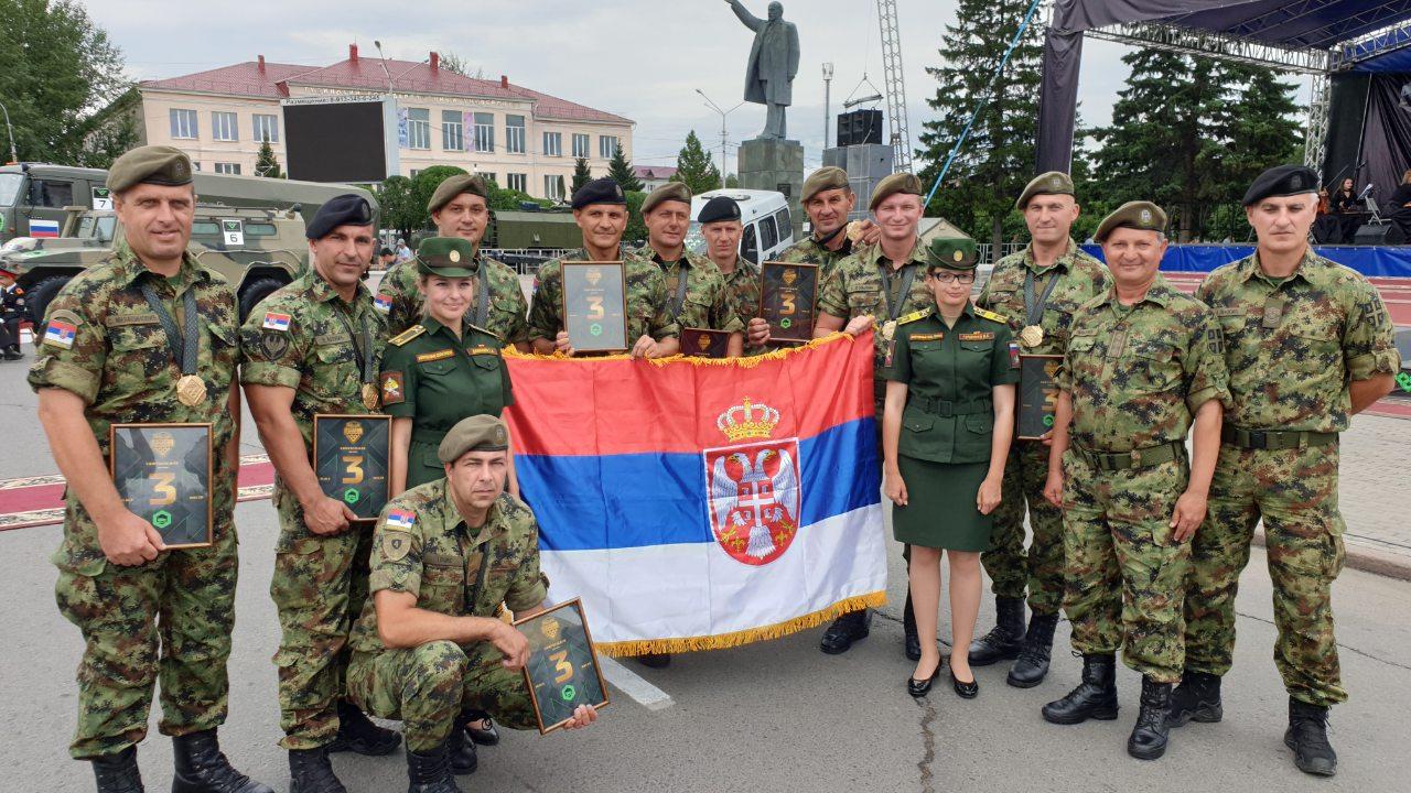 Возачи Војске Србије трећи на Међународним војним играма