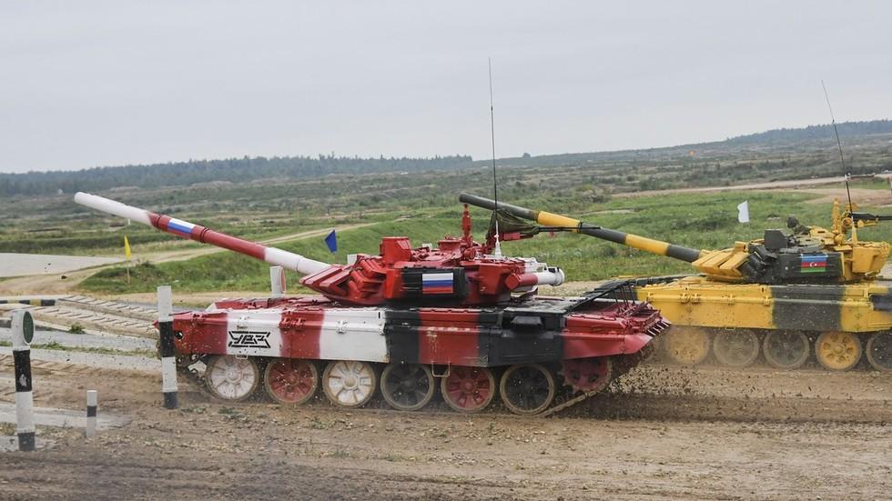 RT: Ruski tenk postavio rekord od 84 km/h na Međunarodnim vojnim igrama