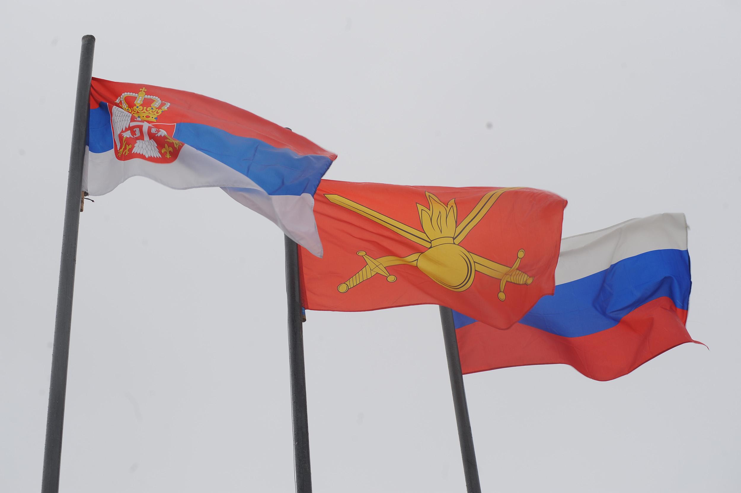 Завршена руско-србска војна вежба у Лењинградској области