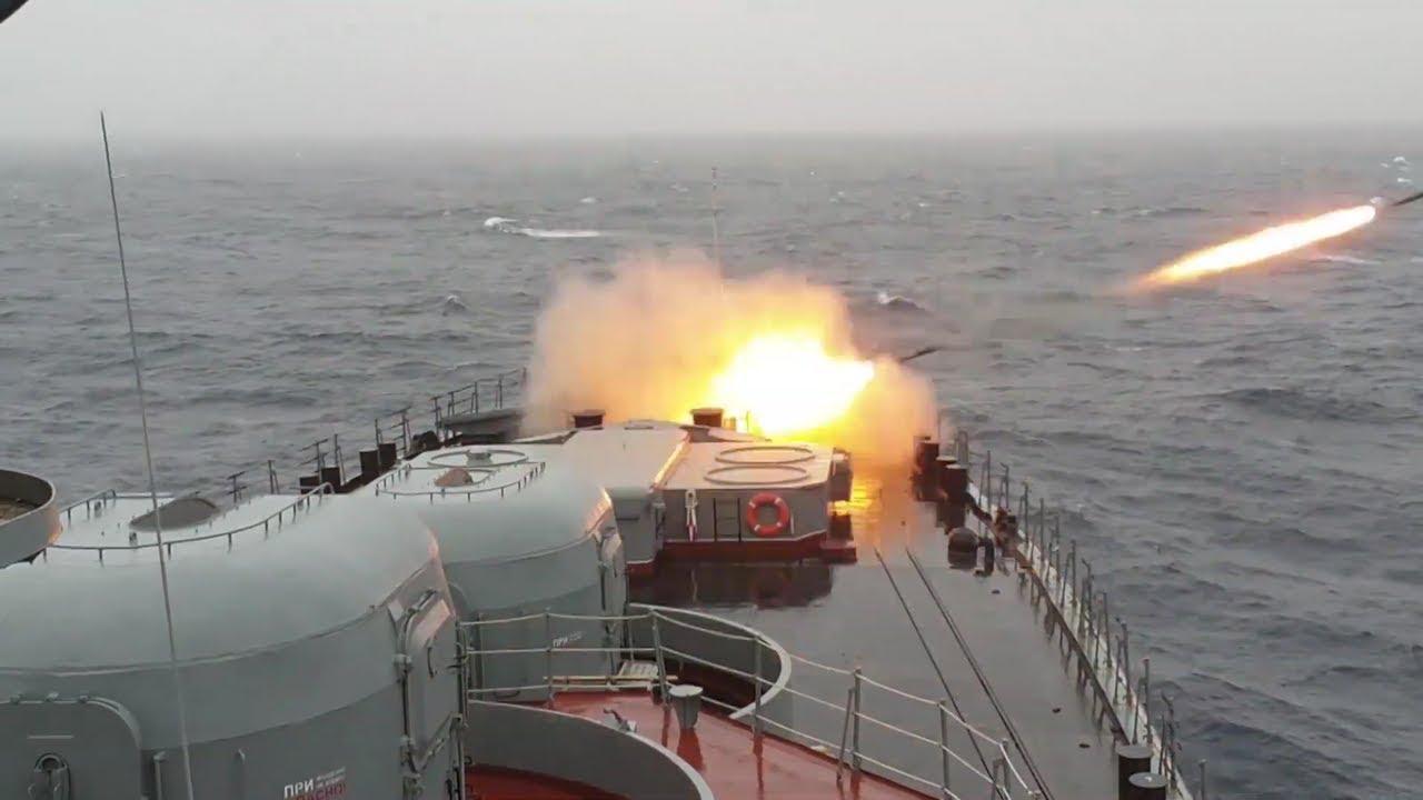 Бојево гађање бродова Северне флоте