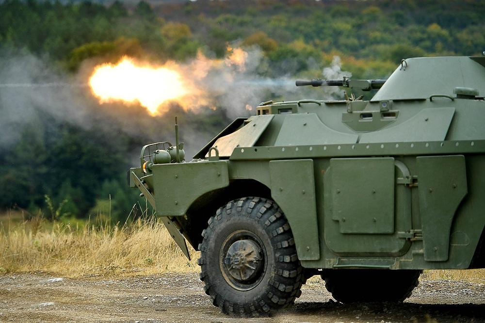 Обука и гађање  јединица Војске Србије на руским оклопно-извиђачким возилима БРДМ-2МС