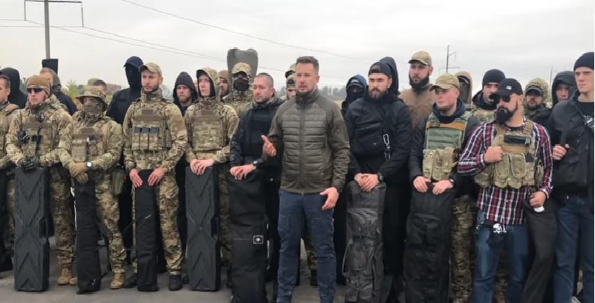 """Милитанти украјинске организације """"Азов"""" не дозвољавају повлачење по Минском споразуму"""