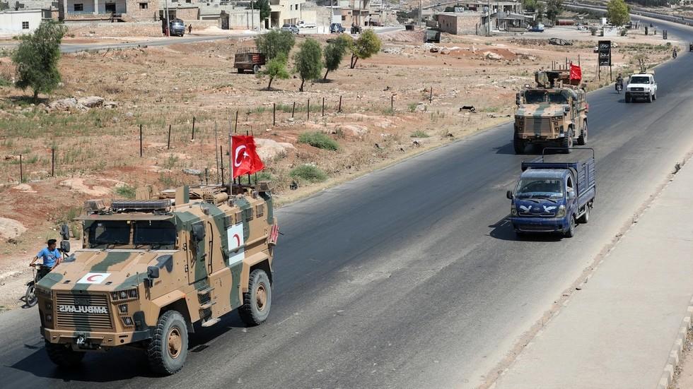 """РТ: Турска напала Сирију: Ердоган започео операцију """"Мирно прољеће"""""""