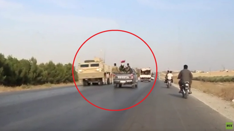 РТ: Блиски сусрет америчких снага у повлачењу и сиријске војске у напредовању