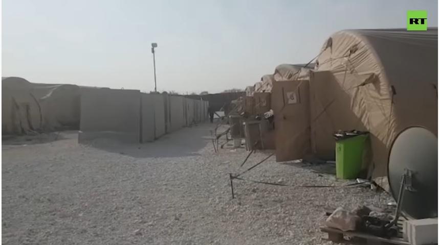 РТ: Отишли у журби: РТ у напуштеној америчкој бази у Манбиџу
