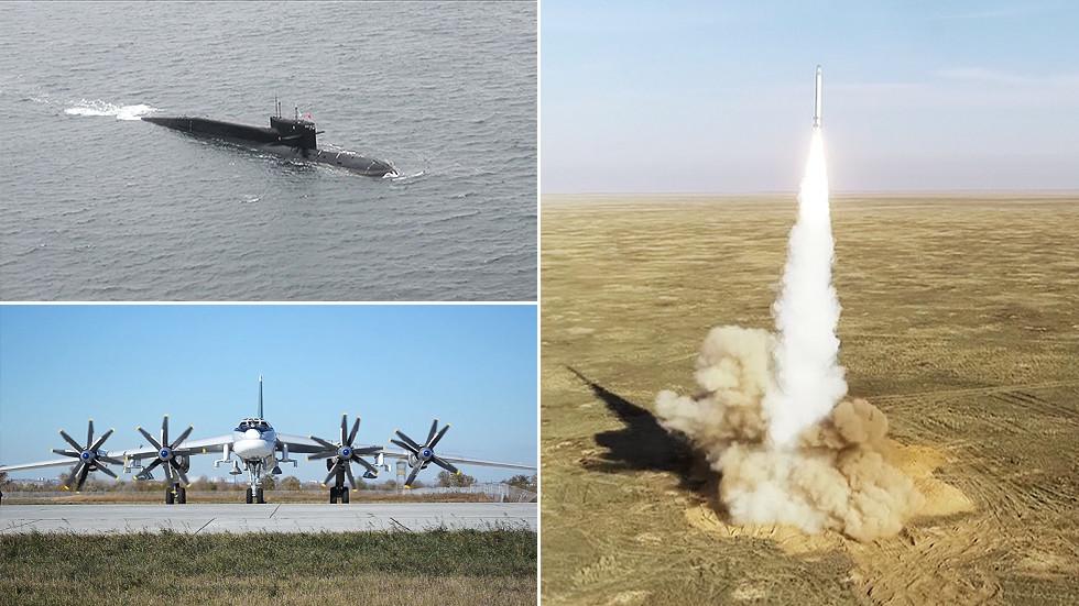 РТ: Нуклеарно одвраћање спремно: Путин командовао вежбом нуклеарне тријаде