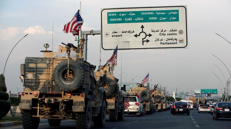 РТ: Ирачка тражи међународну помоћ након што су америчке снаге из Сирије без одобрења ушле у земљу