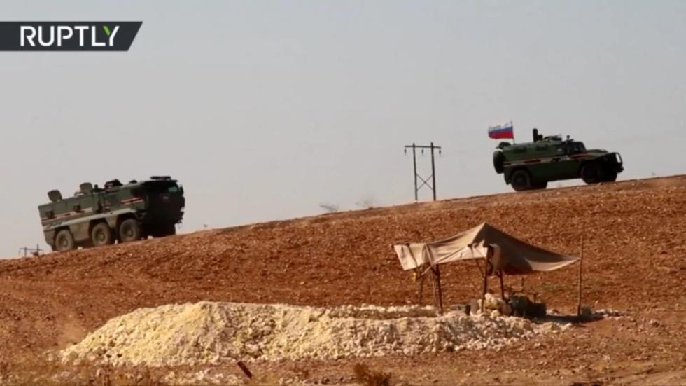 РТ: Руска војна полиција у Манбиџу и Кобанију након договора о распоређивању на сиријско-турској граници