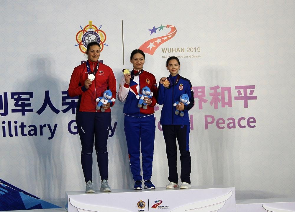 Dve medalje za Srbiju na 7. Svetskim vojnim igrama u Kini
