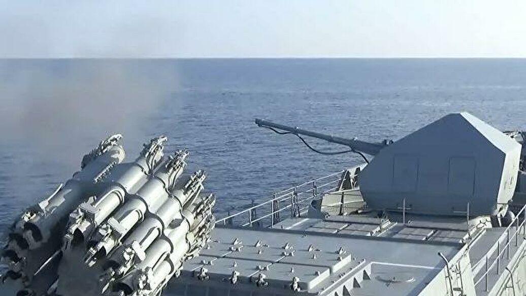 Вежба руских поморских и ваздушних снага у Средоземном мору