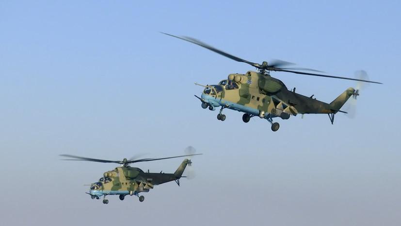 РТ: Руски хеликоптери патролирају северним деловима Сирије