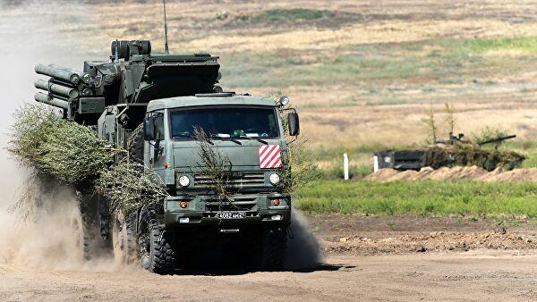 """Sistemi """"Pancir S"""" raspoređeni na severu Sirije radi zaštite ruskih helikoptera"""